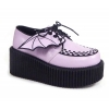 CREEPER-205 Lavender Faux Leather